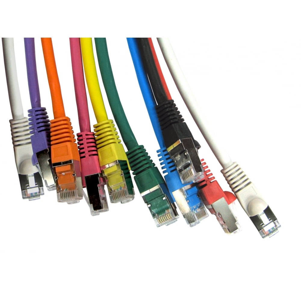 25cm patch leads
